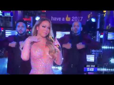 Mariah Carey NYE 2016/2017 performance (FAIL)