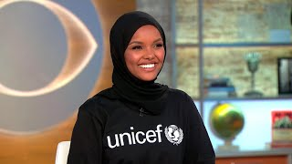 Halima Aden on being a UNICEF ambassador, returning to refugee camp