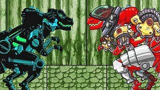 Dino Robot Adventure: T-Rex Stage 31-40 | Eftsei Gaming