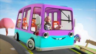 Hjulen På Bussen - Barnsånger på svenska - BarnMusikTV