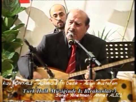Rıza KONYALI Aşkımız Bitti Dedik Aslan Mustafam
