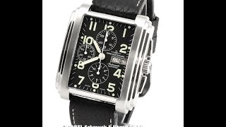 Zeno-Watch Basel Square Stairs Chronograph Day Date Ref. 3246 (FM10283)