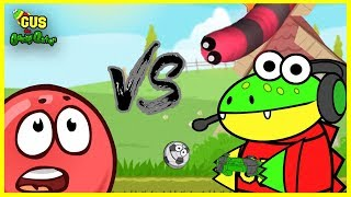 Redball 4 Vs. Slither.io Let