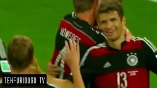 Brazil vs Germany 1 - 7 All Goals Highlights FIFA World Cup Semi Final 2014 HD