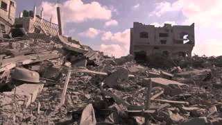 Residents Come Home To Rubble In Gaza   Raw Video