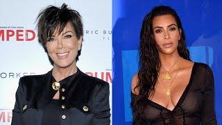"""Kris Jenner Calls Kim Kardashian Sex Tape Leak """"Horrific"""