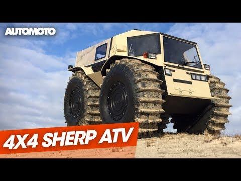 Sherp ATV le 4x4 amphibie venu du froid