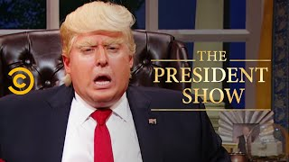 Nice! Not Nice - A Professional Khan Artist - The President Show - Comedy Central