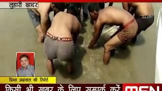 अमरोहा हसनपुर मुंडन संस्कार के दौरान गंगा में डूबे 5 लोगों का हुआ अंतिम संस्कार