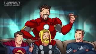 Lawak Avengers Infinity war