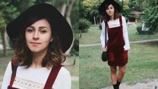 Kendin Yap Salopet Elbise / DIY Dress