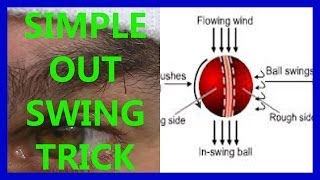 HD Video Cricket Coaching Fast Bowling Swing Tips - Away/Out Swing Trick