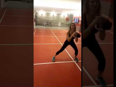 Diletta Leotta sexy allenamento!