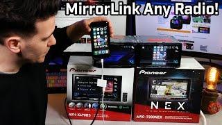 How You MirrorLink Any Radio!!! Pioneer NEX and AVH Used