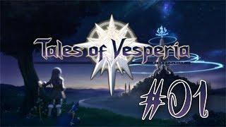Tales of Vesperia PS3 English Playthrough with Chaos part 1: Fountain Malfunction