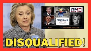 BREAKING: HILLARY IS DISQUALIFIED! NEW UNDERCOVER VERITAS VIDEO CONVICTS HER OF GROSS FEDERAL CRIMES