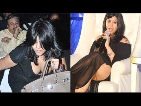 Xxx Mp4 Ekta Kapoor हुई Oops Moment की शिकार 3gp Sex