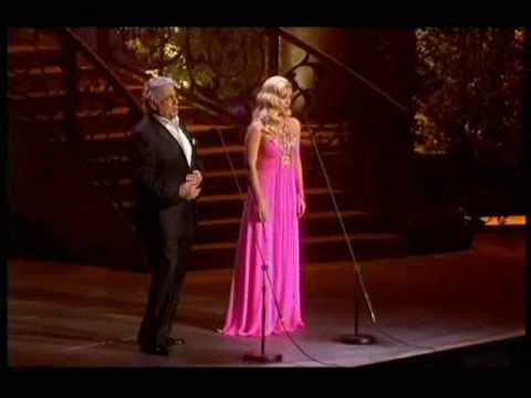 Placido Domingo and Katherine Jenkins A Mother's Wonderment
