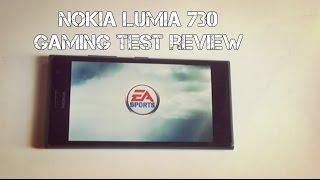 Nokia Lumia 730 Gaming Test Review