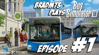 Bus Simulator 16 - Episode 1 - Getting Started!!