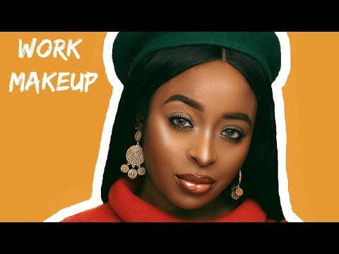Work friendly makeup tutorial for brown skin/Beginners (NO LASHES)