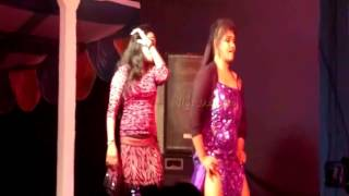 Song perform in stage recording  dancers