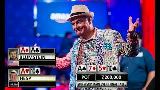 SET Over Top Two For 151 MILLION In The Main Event