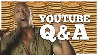 The Rock Answers Questions From YouTubers! Seven Bucks October Q&A