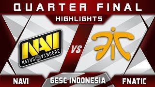 NaVi vs Fnatic [EPIC] GESC Indonesia 2018 Minor Highlights Dota 2