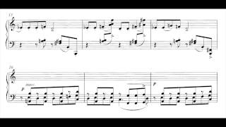 Schulhoff - 3. Suite (Piano left hand alone)