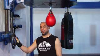 Boxing Skills : What Is the Proper Height of a Speed Bag?