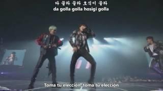 BTS - Boyz With Fun - HYYH (Sub español - Hangul - Roma)