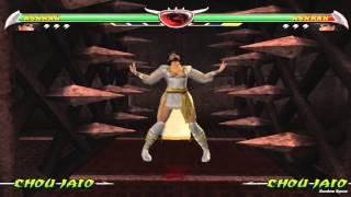 Mortal Kombat Deception All Stage Fatalities on Ashrah Alternative Costume (HD)