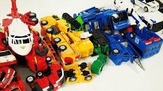 헬로카봇 장난감 분리한 부품을 합체시켜봐요!! Hello carbot disassemble and union play