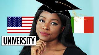 ITALY VS USA | UNIVERSITY (GRADING, CAMPUS LIFE + MORE)