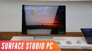 Microsoft Surface Studio PC first look
