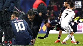 Neymar May Sit Out For Clash Against Manchester United After Foot Injury