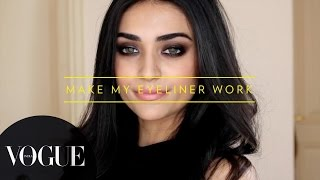 5 Different Eyeliner Looks | Vogue Beauty Goals with Lizah ● Makeup Tutorial | VOGUE India