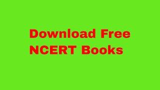 Download NCERT books in 10 secs