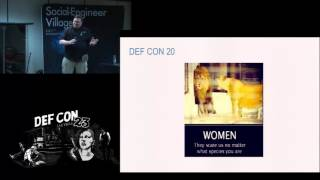 DEF CON 23 - Social Engineering Village - Chris Hadnagy - A Peek Behind the Blue Mask