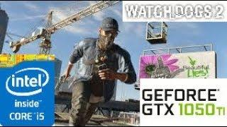 Watch Dogs 2: GTX 1050 TI 4GB i5 4460
