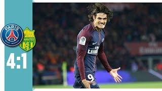 Paris Saint-Germain - FC Nantes 4:1 / Cavani mit Doppelpack & Slapstick-Abwehr von Nantes