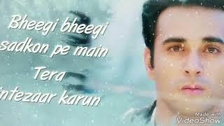 Sanam re -  lyrics whatsapp status-arijit Singh-Knox artiste-brown boy-Sahil chhote Nawab