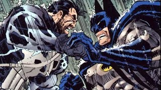 el dia que batman y punisher se enfrentaron - alejozaaap - marvel - dc comics - superman - spiderman