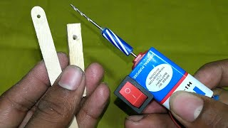 How to make drill machine at home | easy & simply | 360 DIY