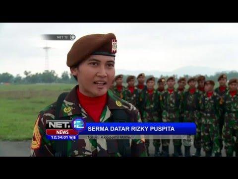 Sosok Mengispirasi Datar Rizky Puspita Taruni Akademi Militer Penerjun Payung - NET12