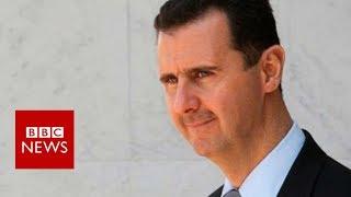 Syria air strikes: Bashar Al-Assad comment - BBC News