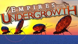 RAIDING Ants ATTACK Peaceful ANT COLONY - Empires of the Undergrowth Gameplay
