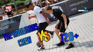 WS3s OPEN SUPERBALL | THE HOOLIGANS CREW VS 120+
