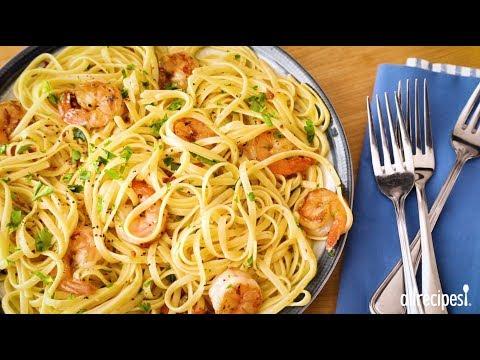 Shrimp Recipes - How to Make Shrimp Scampi with Pasta